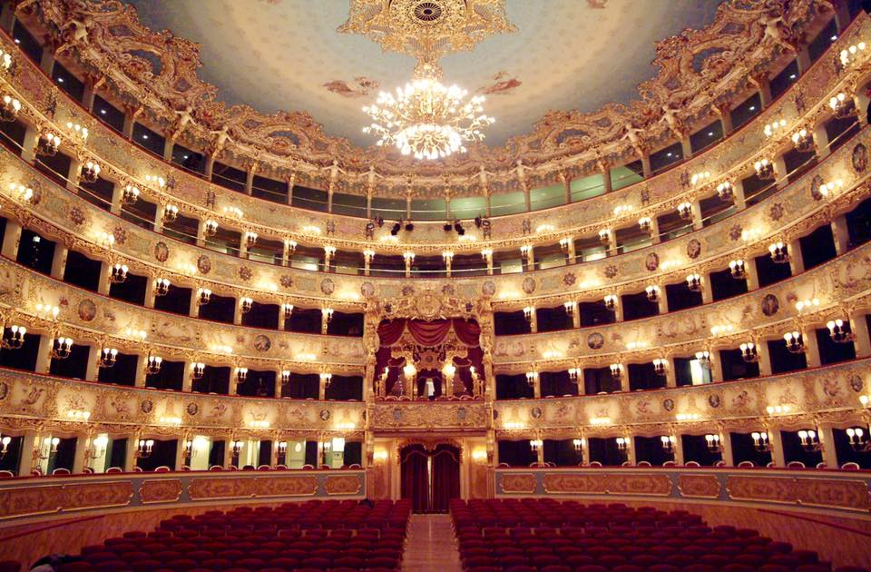 Zdislava performed as Olga from The Merry Widow in Teatro La Fenice di Venezia.
