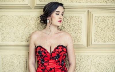 Zdislava vroli Violetty na premiéře opery La Traviata vTeatro nuovo Gian Carlo Menotti ve Spoletu.