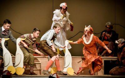 Dnes v15.00 přímý přenos opery Příhody Lišky Bystroušky zJanáčkova divadla!