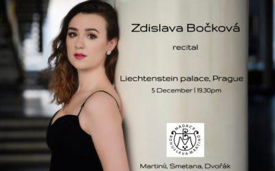 Recitál na Dnech Bohuslava Martinů 2018