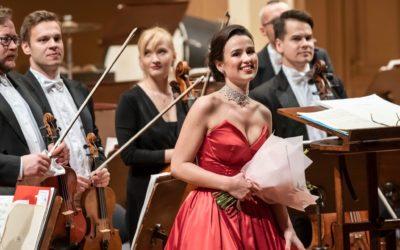 Zdislava se představila na koncertech  Českou filharmonií.