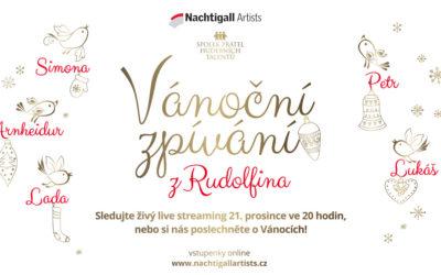 Christmas concert from Rudolfinum – livestream on 21st of December